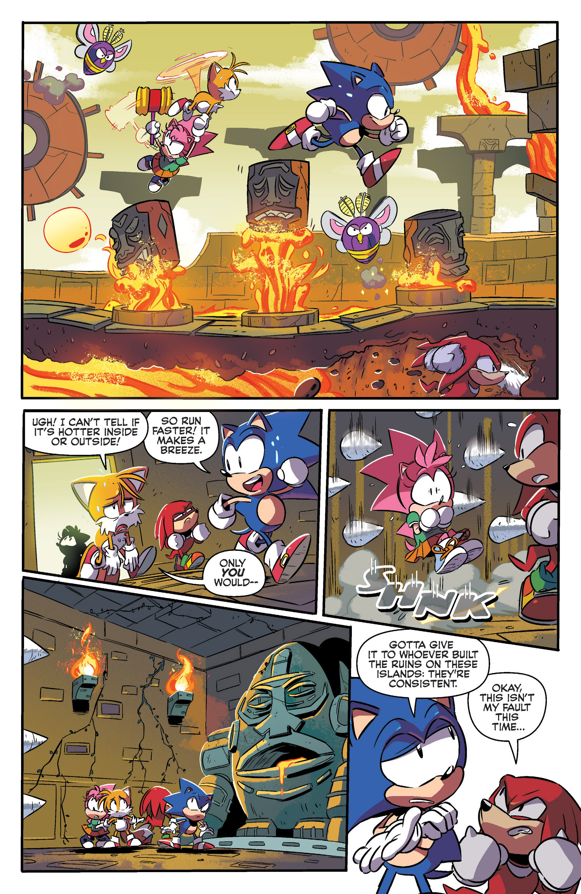 Read online Sonic: Mega Drive - The Next Level comic -  Issue # Full - 18