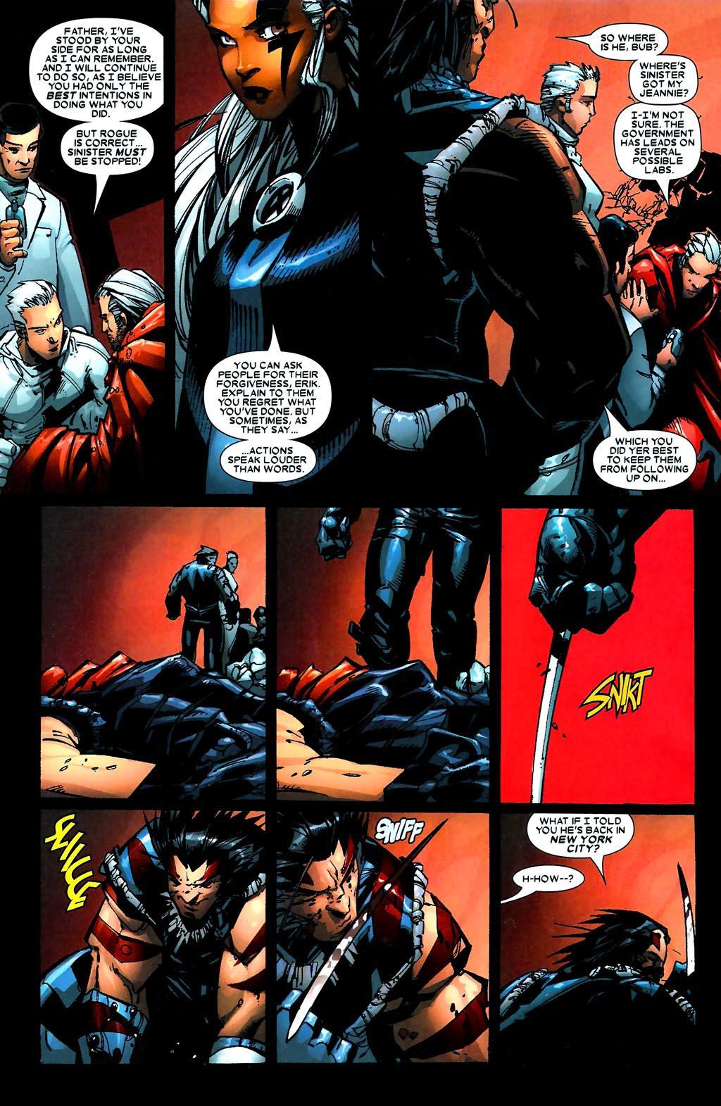Read online Age of Apocalypse (2005) comic -  Issue #5 - 16