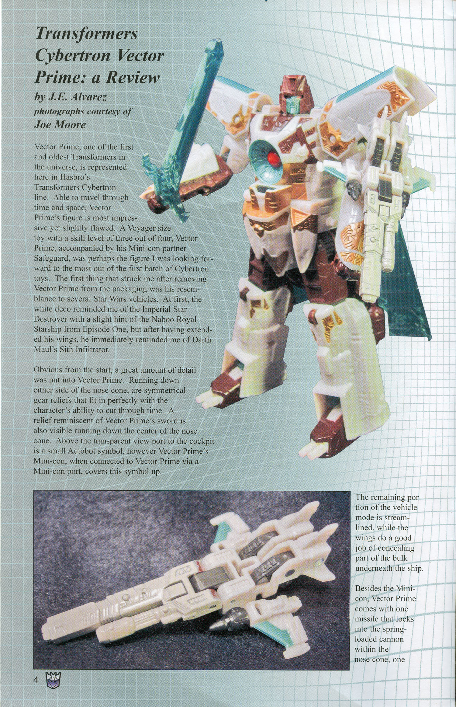 Read online Transformers: Collectors' Club comic -  Issue #3 - 4