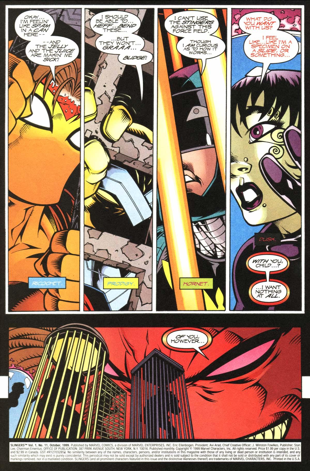 Read online Slingers comic -  Issue #11 - 2