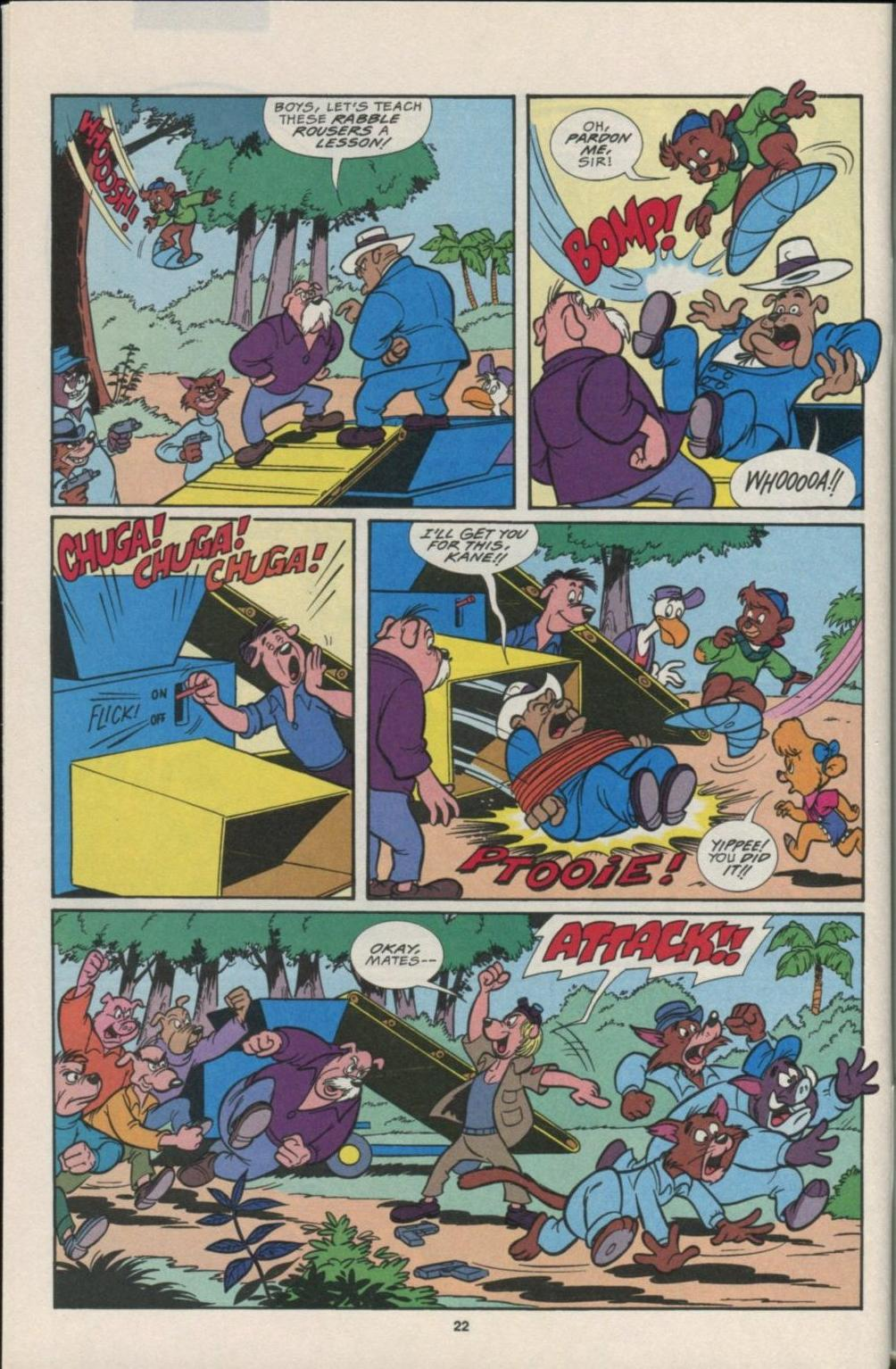 Read online Disney's Tale Spin comic -  Issue #7 - 23