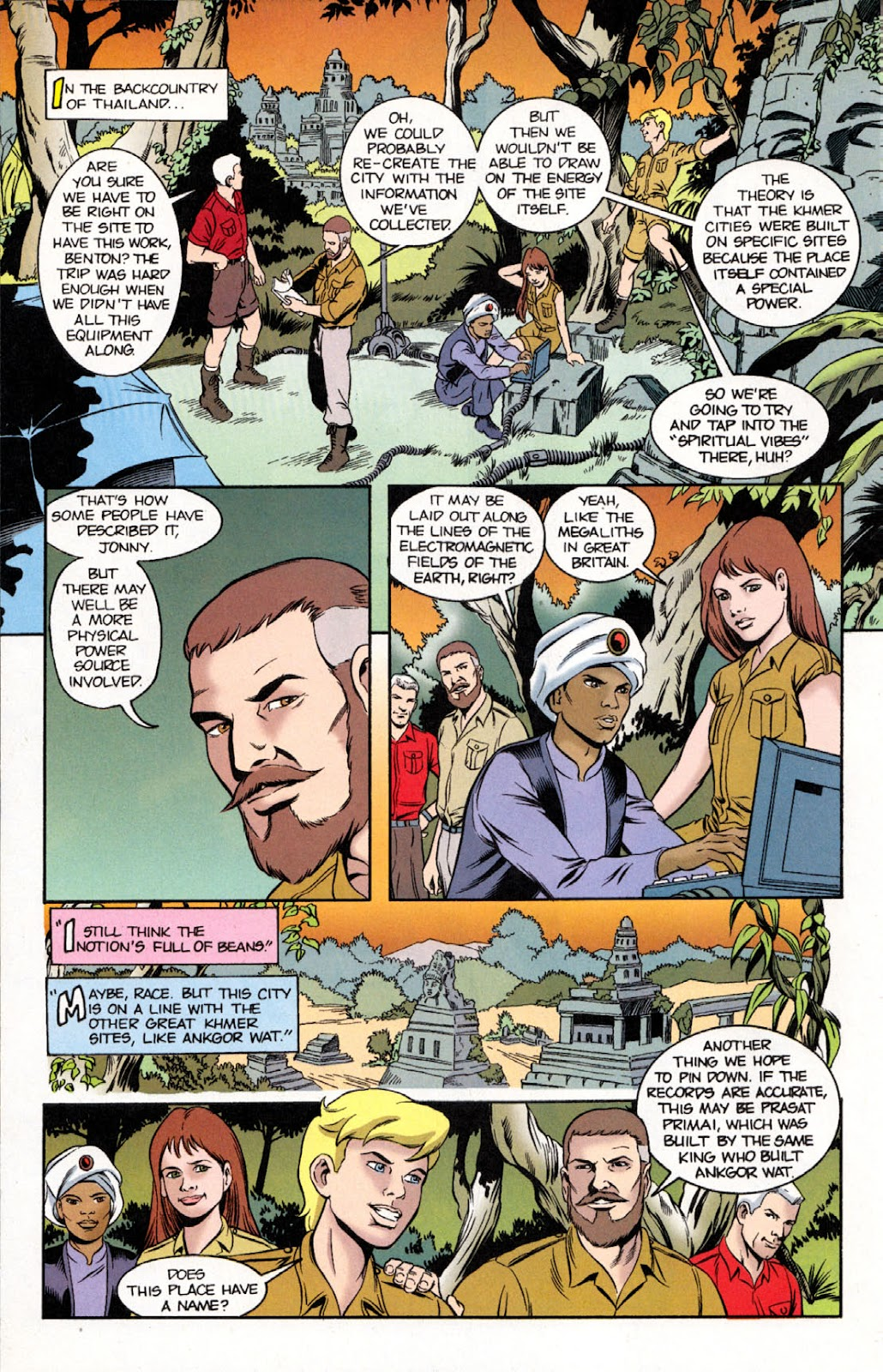 Read online The Real Adventures of Jonny Quest comic -  Issue #11 - 10