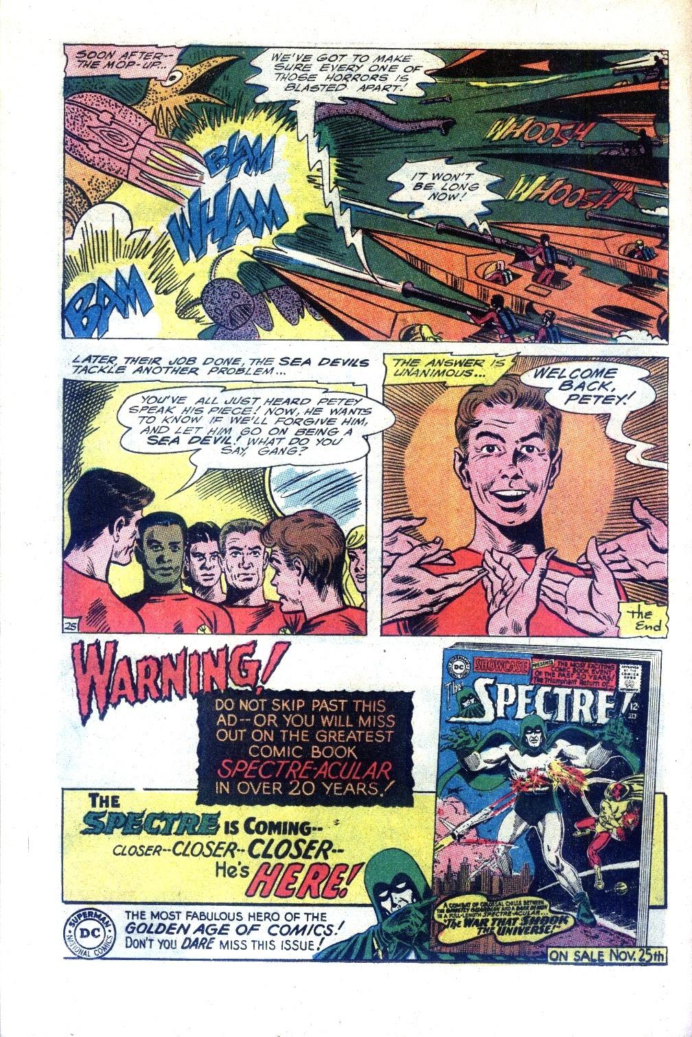 Read online Sea Devils comic -  Issue #27 - 33