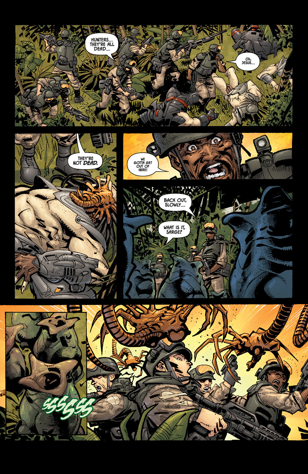 Read online Aliens vs. Predator: Three World War comic -  Issue #5 - 21