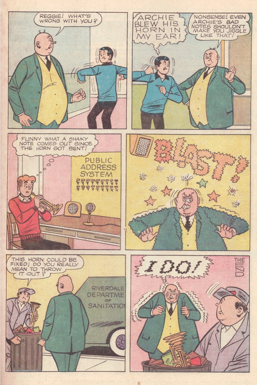 Read online Archie (1960) comic -  Issue #163 - 33