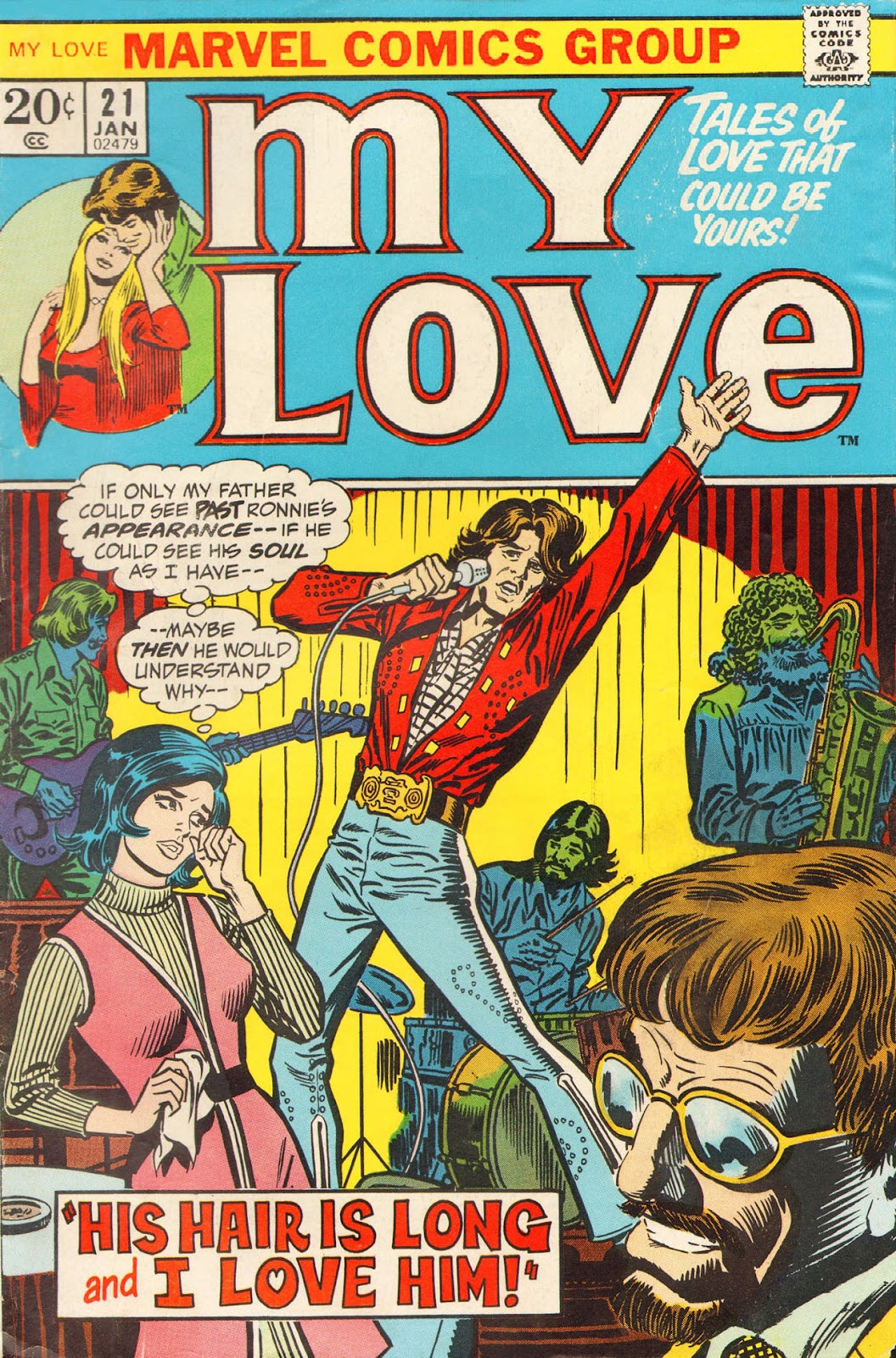 My Love (1969) issue 21 - Page 1