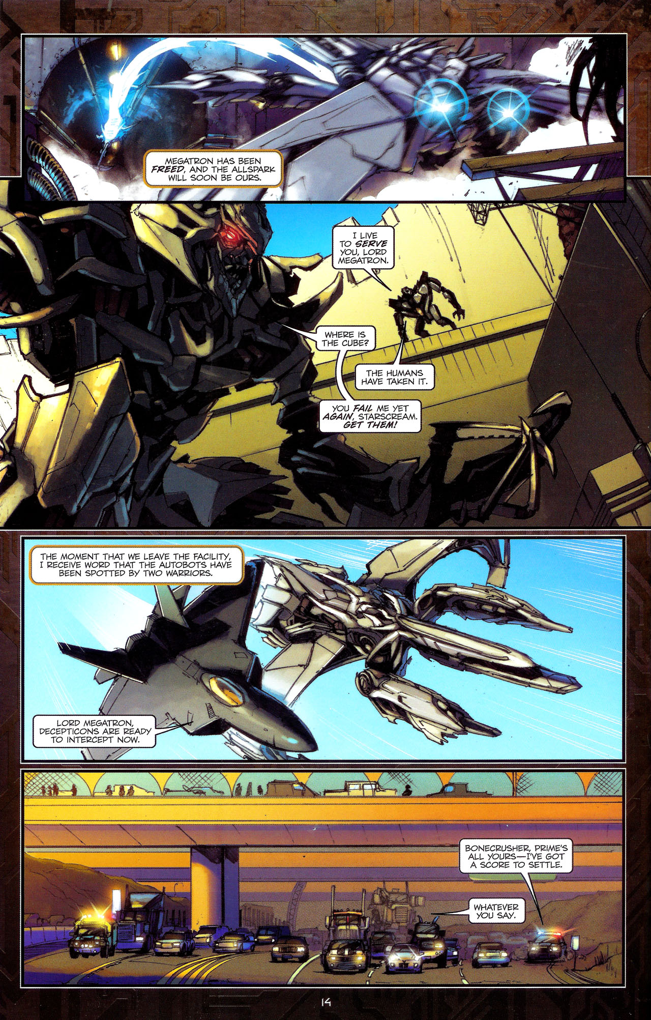 Read online Transformers: The Reign of Starscream comic -  Issue #1 - 17