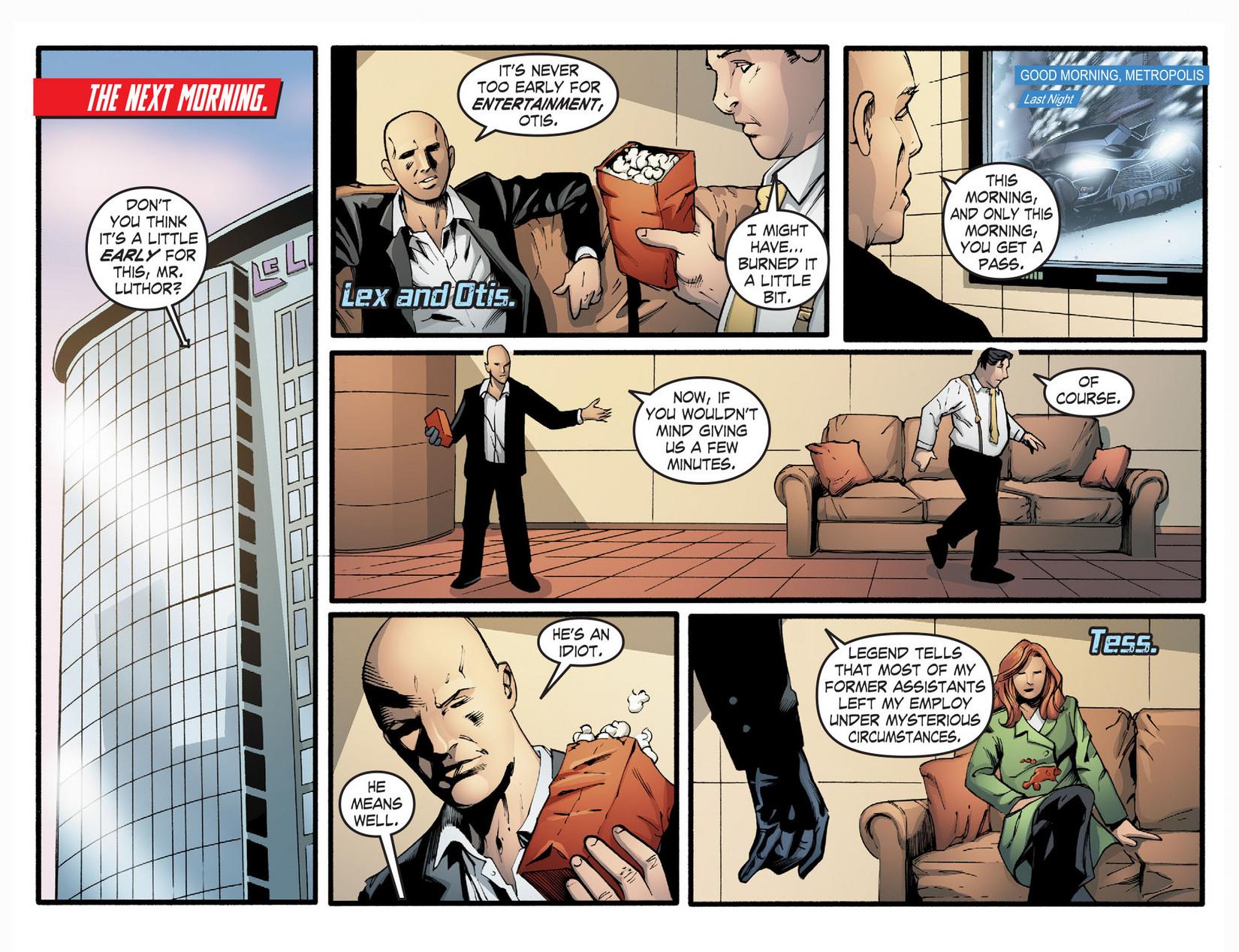 Read online Smallville: Season 11 comic -  Issue #22 - 3