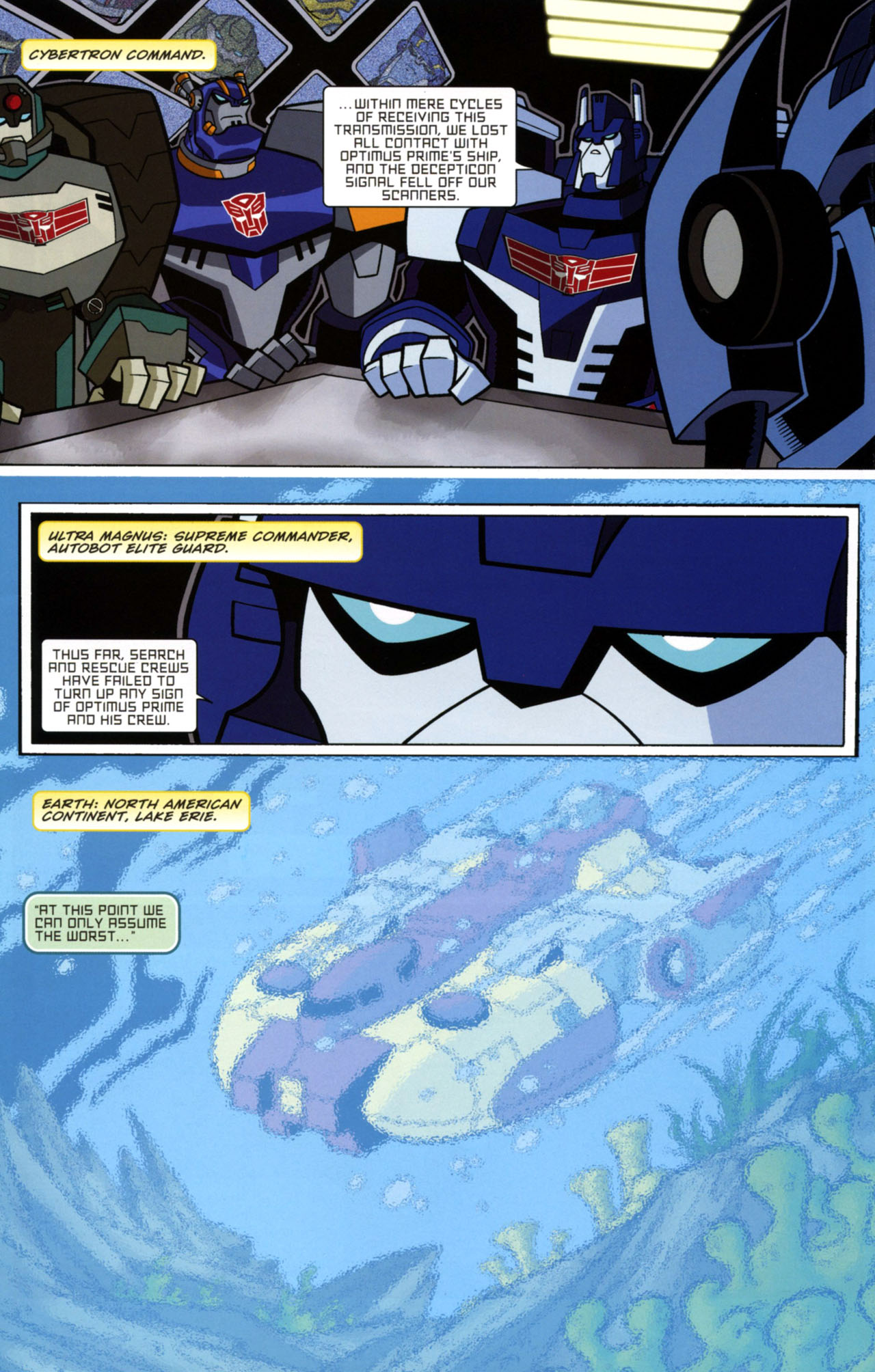 Read online Transformers Animated: The Arrival comic -  Issue #1 - 5