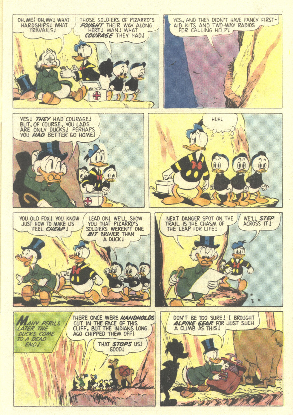 Read online Uncle Scrooge (1953) comic -  Issue #211 - 9