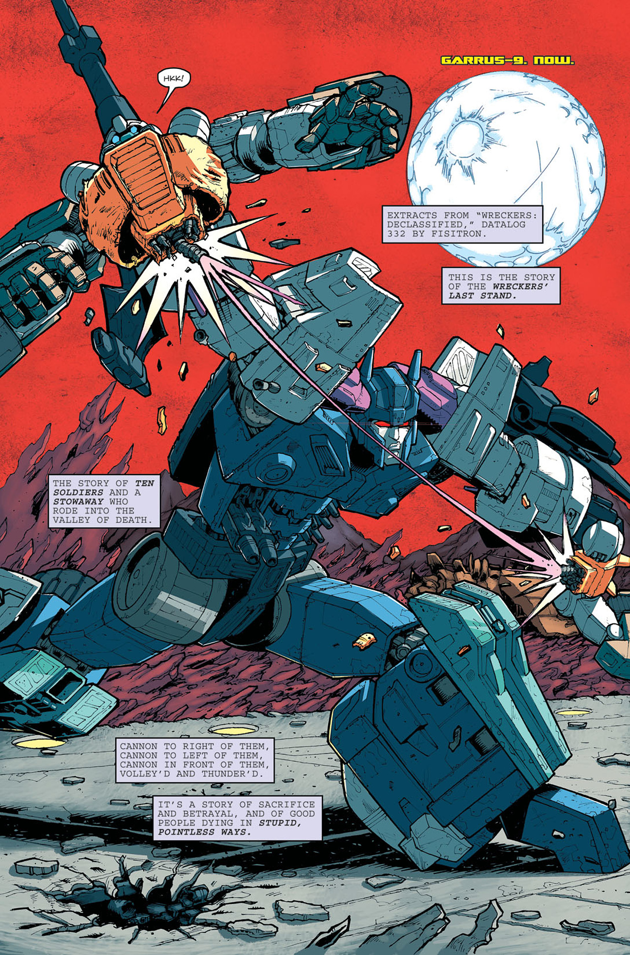 Read online Transformers: Last Stand of The Wreckers comic -  Issue #5 - 4