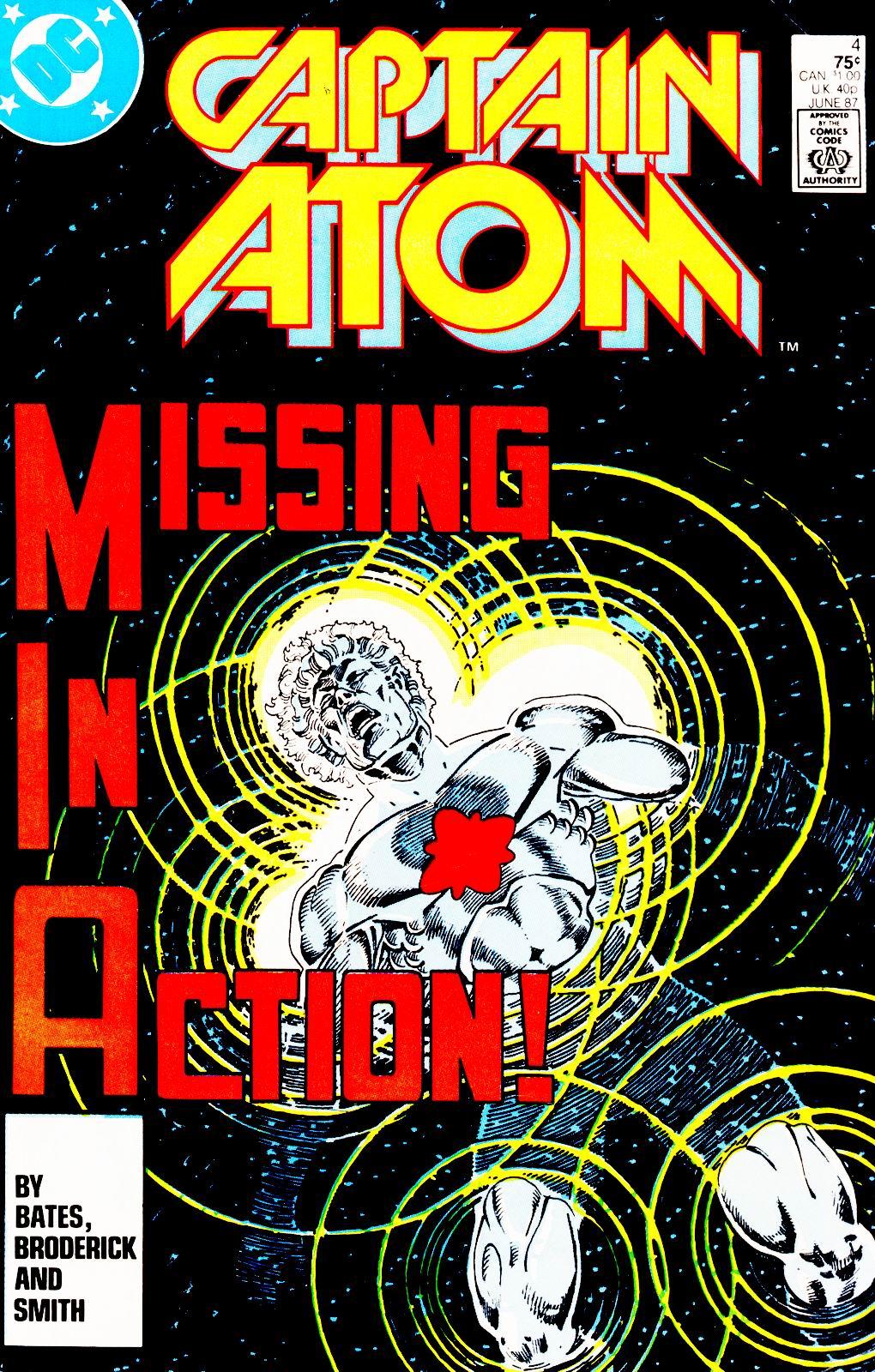 Captain Atom (1987) 4 Page 1