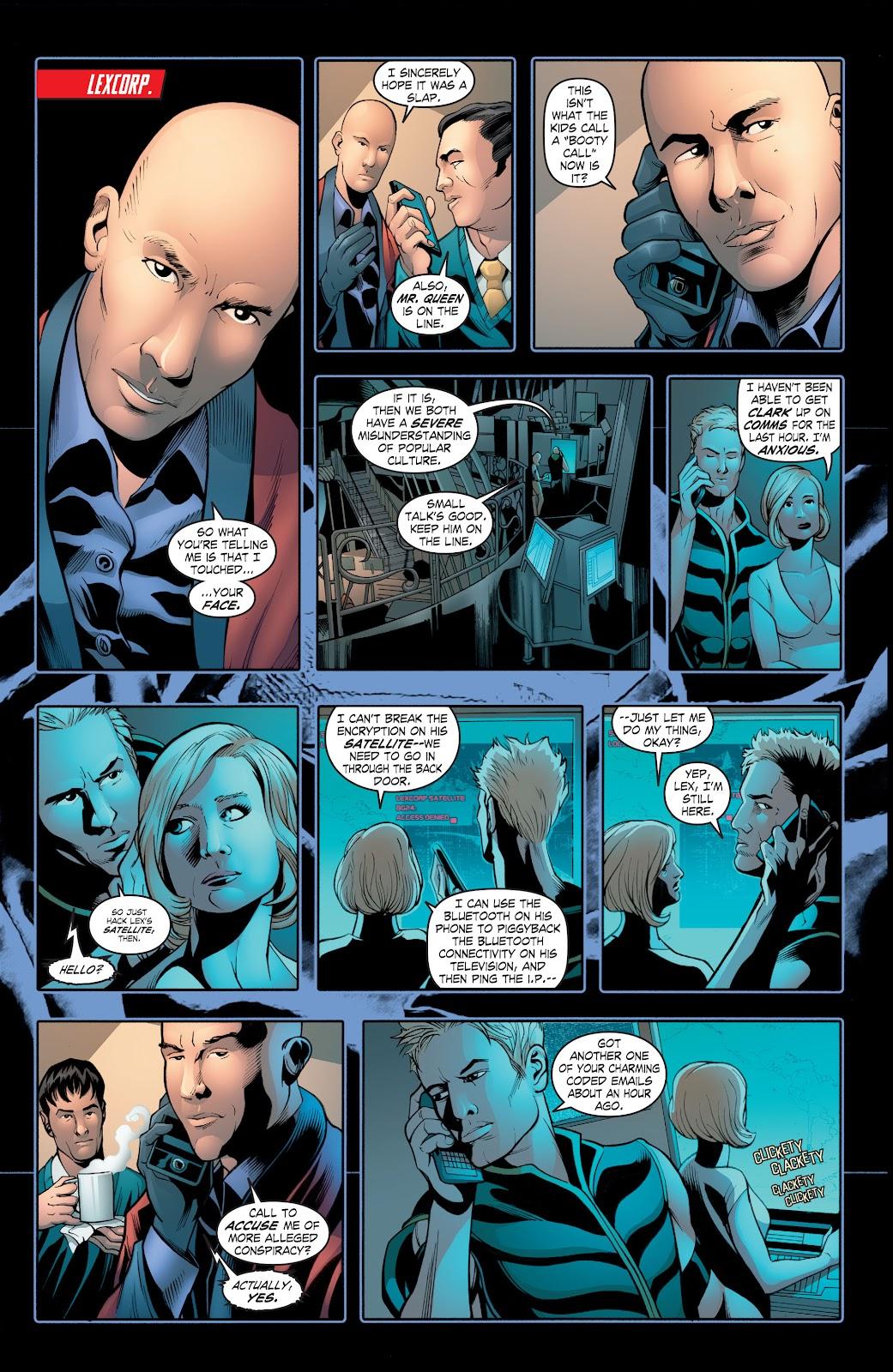 Read online Smallville Season 11 [II] comic -  Issue # TPB 2 - 81