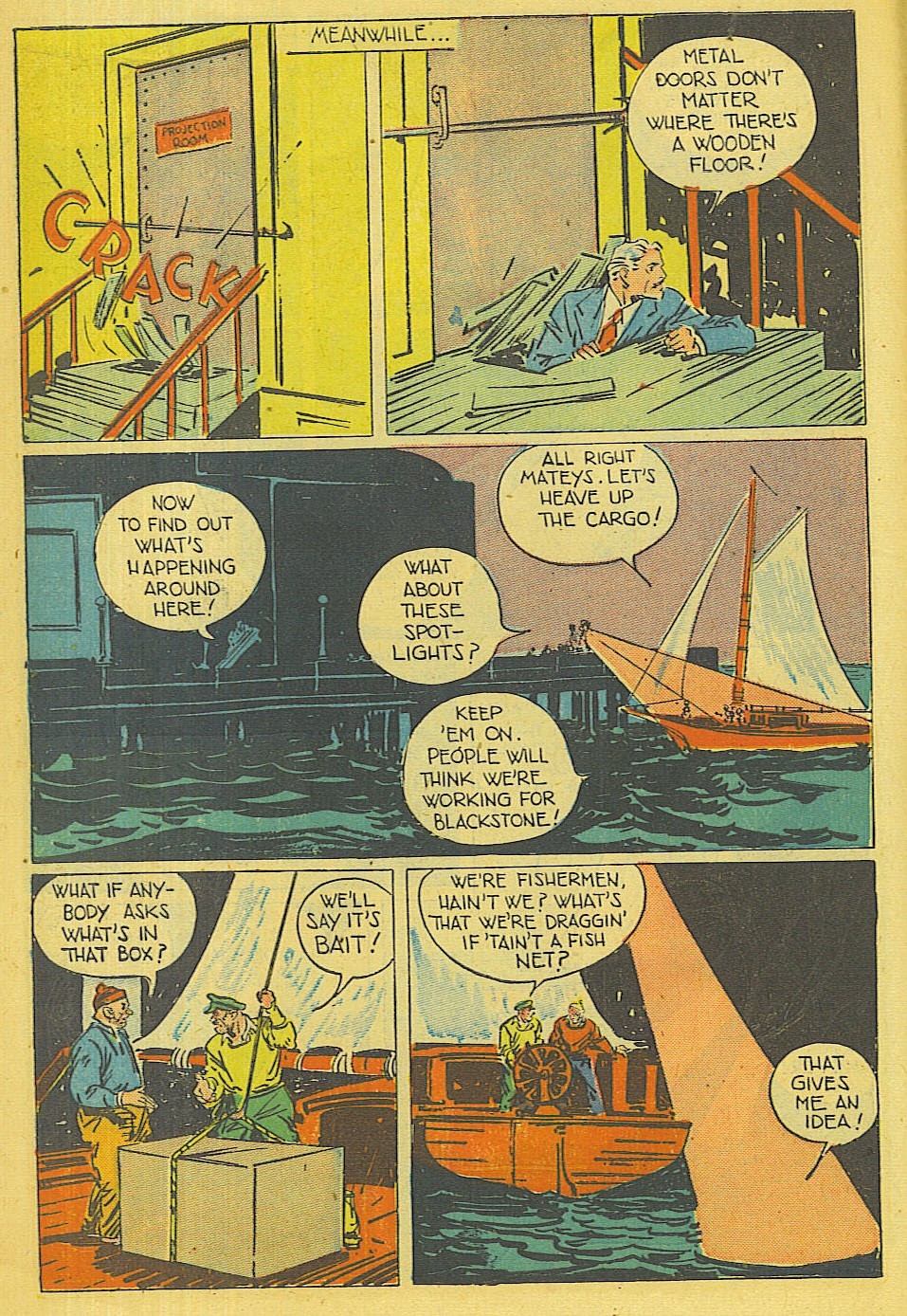 Read online Super-Magician Comics comic -  Issue #42 - 11