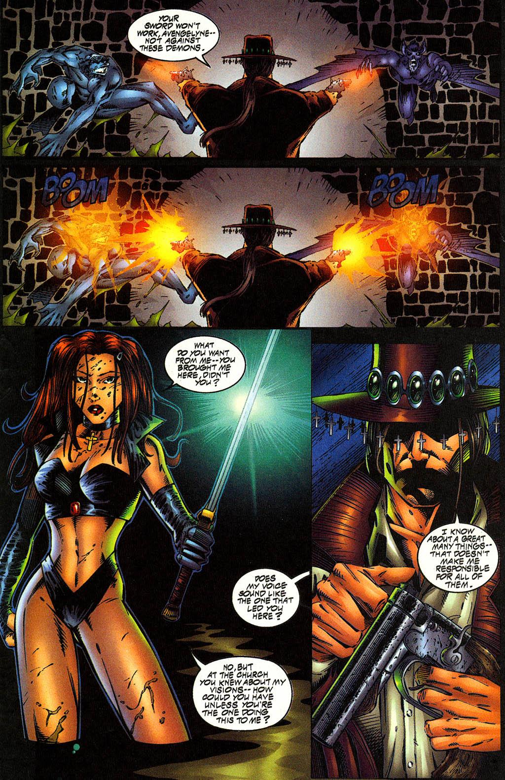 Read online Avengelyne (1996) comic -  Issue #10 - 15