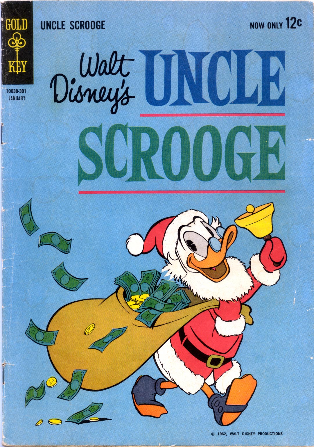 Read online Uncle Scrooge (1953) comic -  Issue #40 - 1