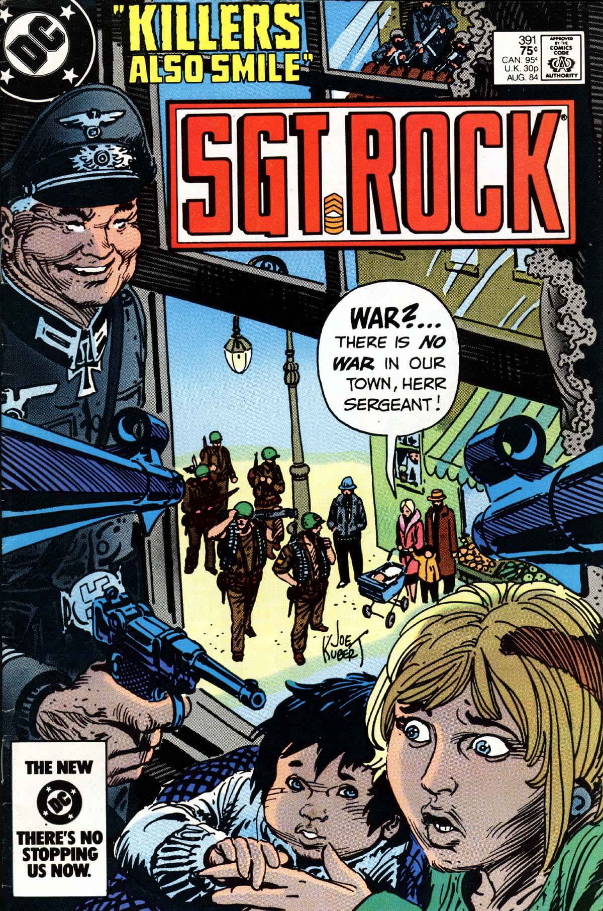 Read online Sgt. Rock comic -  Issue #391 - 1
