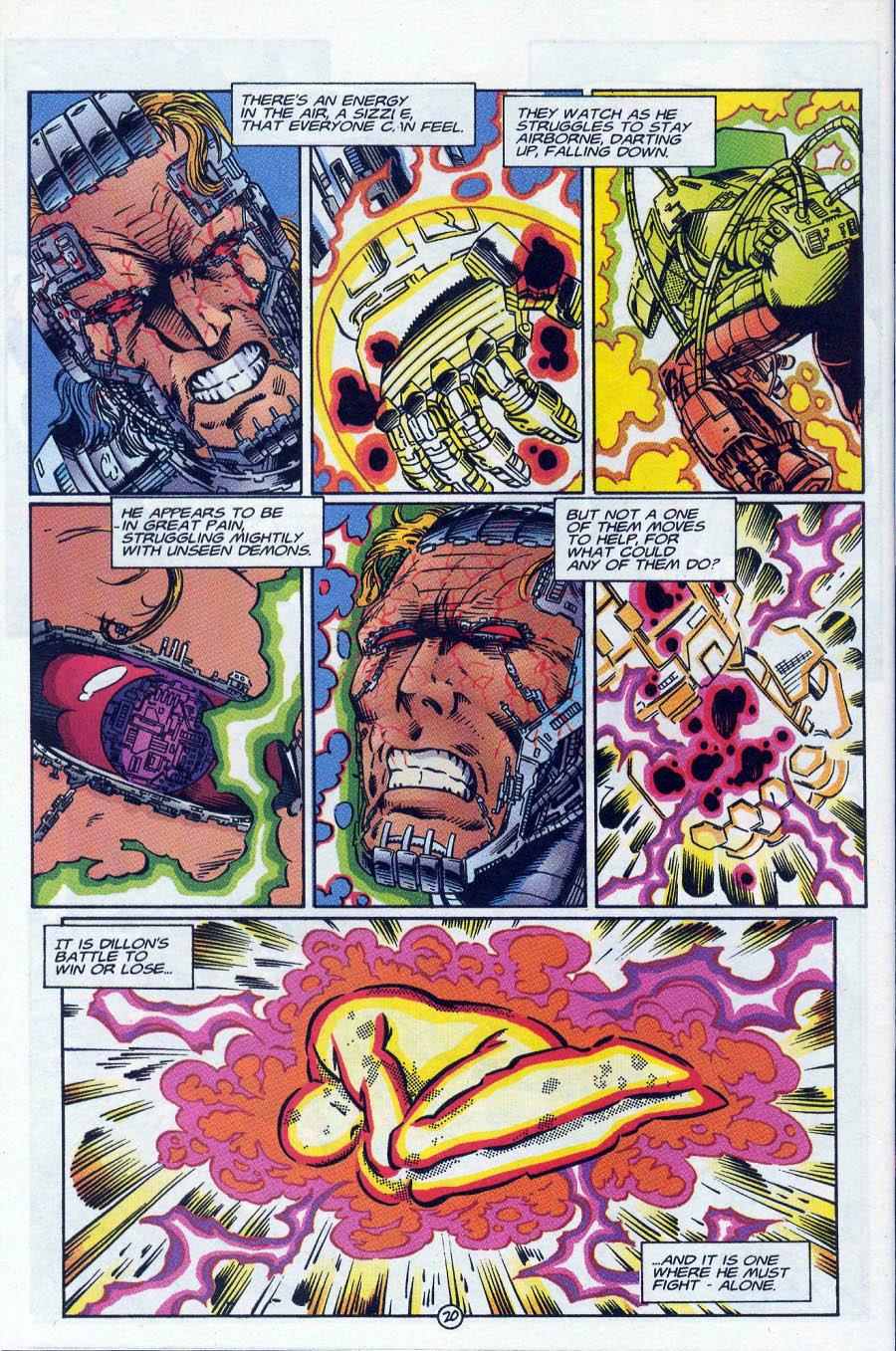 Read online Ex-Mutants comic -  Issue #18 - 20