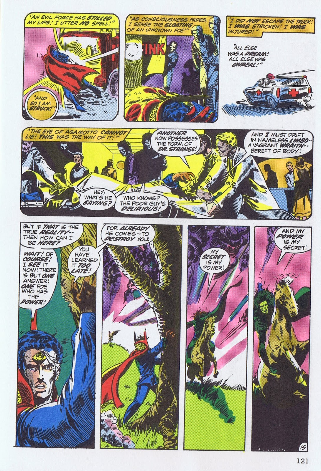 Doctor Strange: Master of the Mystic Arts issue TPB - Page 115