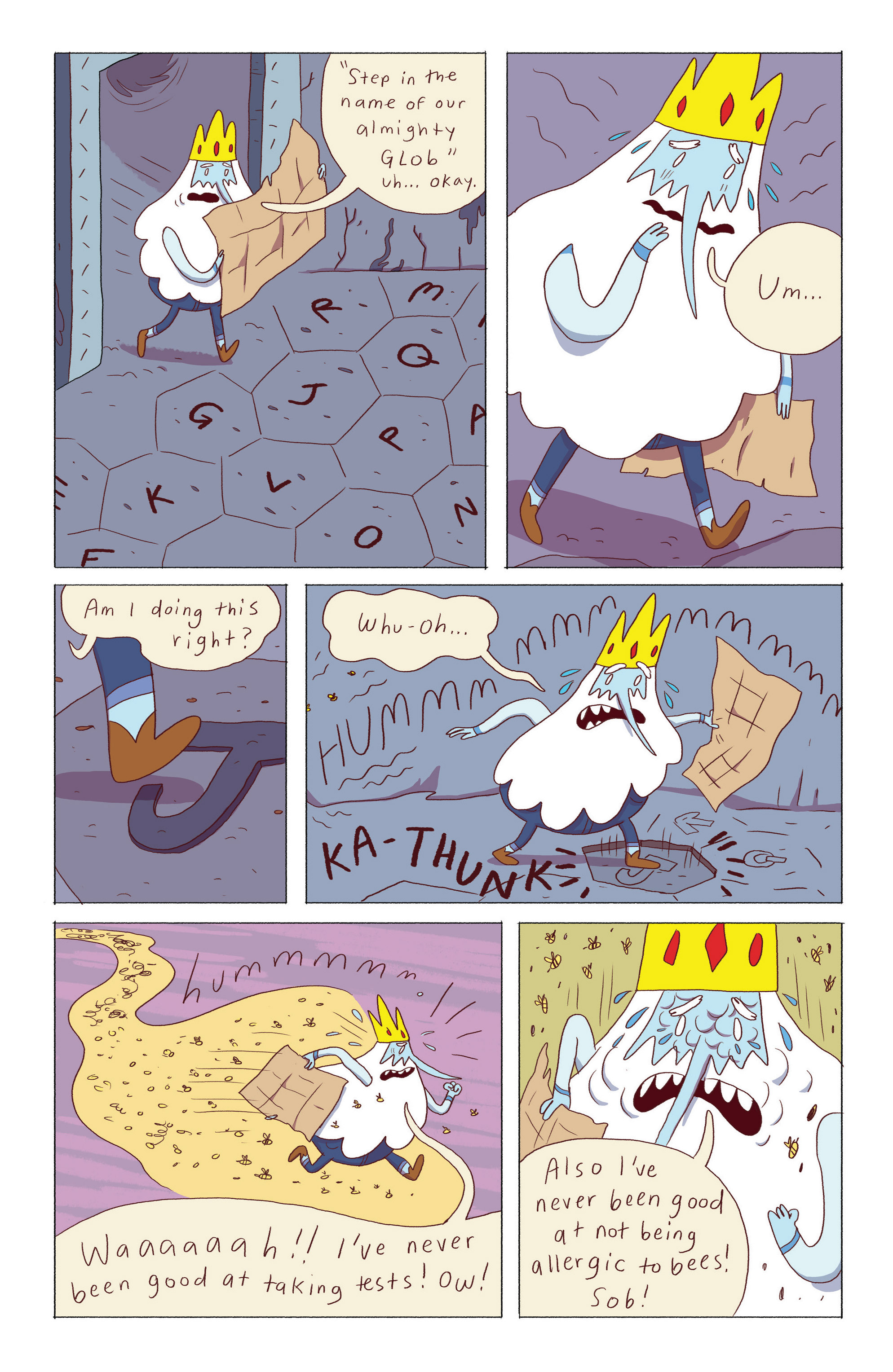 Read online Adventure Time: Ice King comic -  Issue #5 - 9