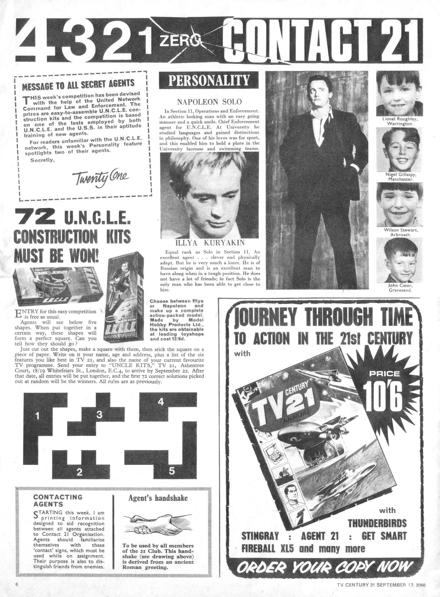 Read online TV Century 21 (TV 21) comic -  Issue #87 - 6