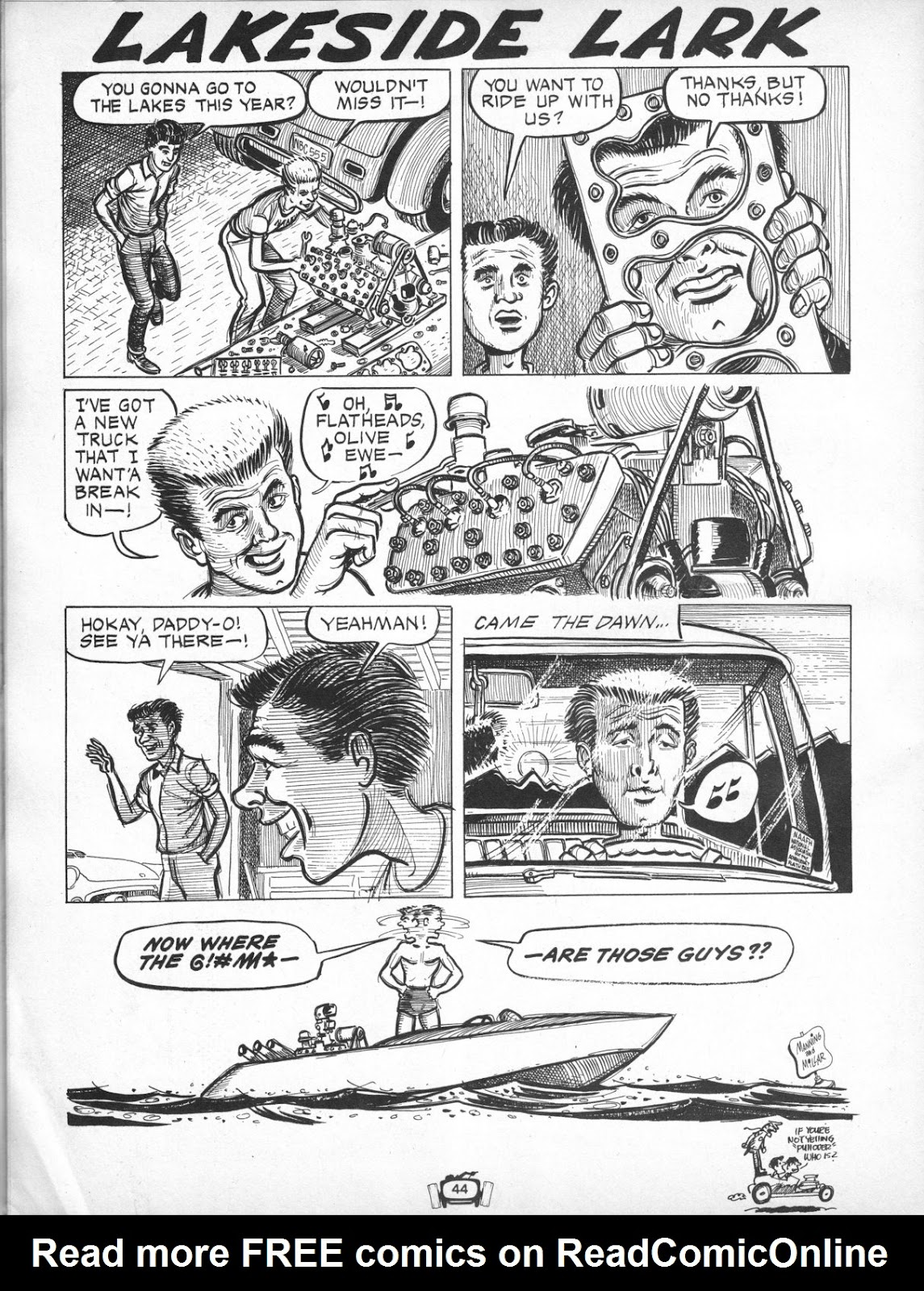 Drag Cartoons issue 7 - Page 44