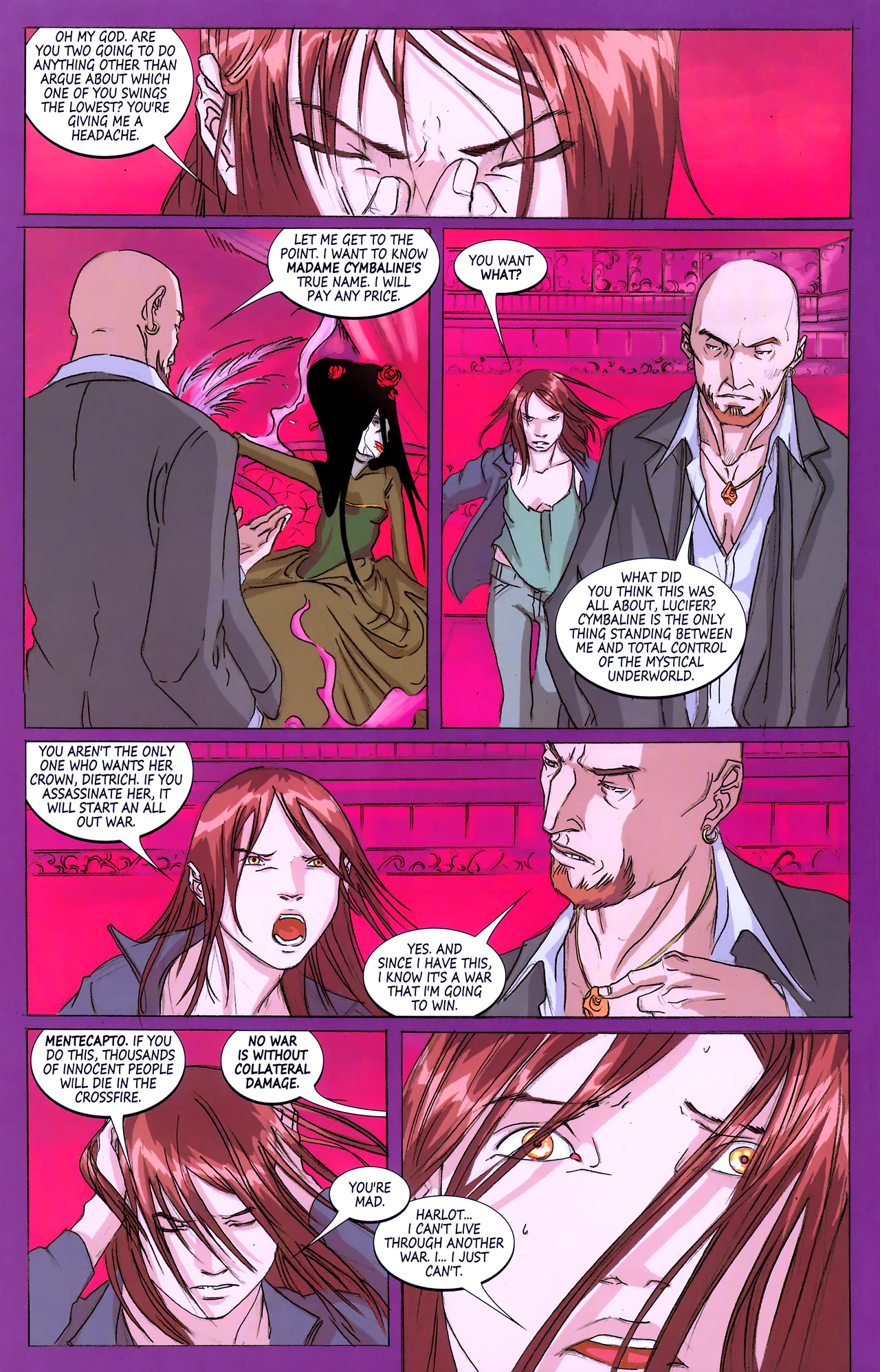 Read online Hexed comic -  Issue #3 - 6