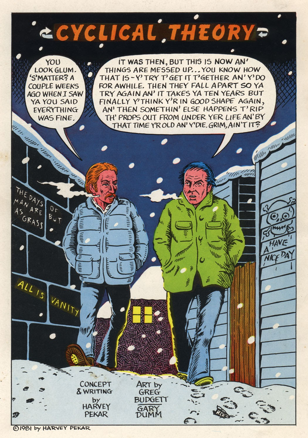 American Splendor (1976) issue 6 - Page 61