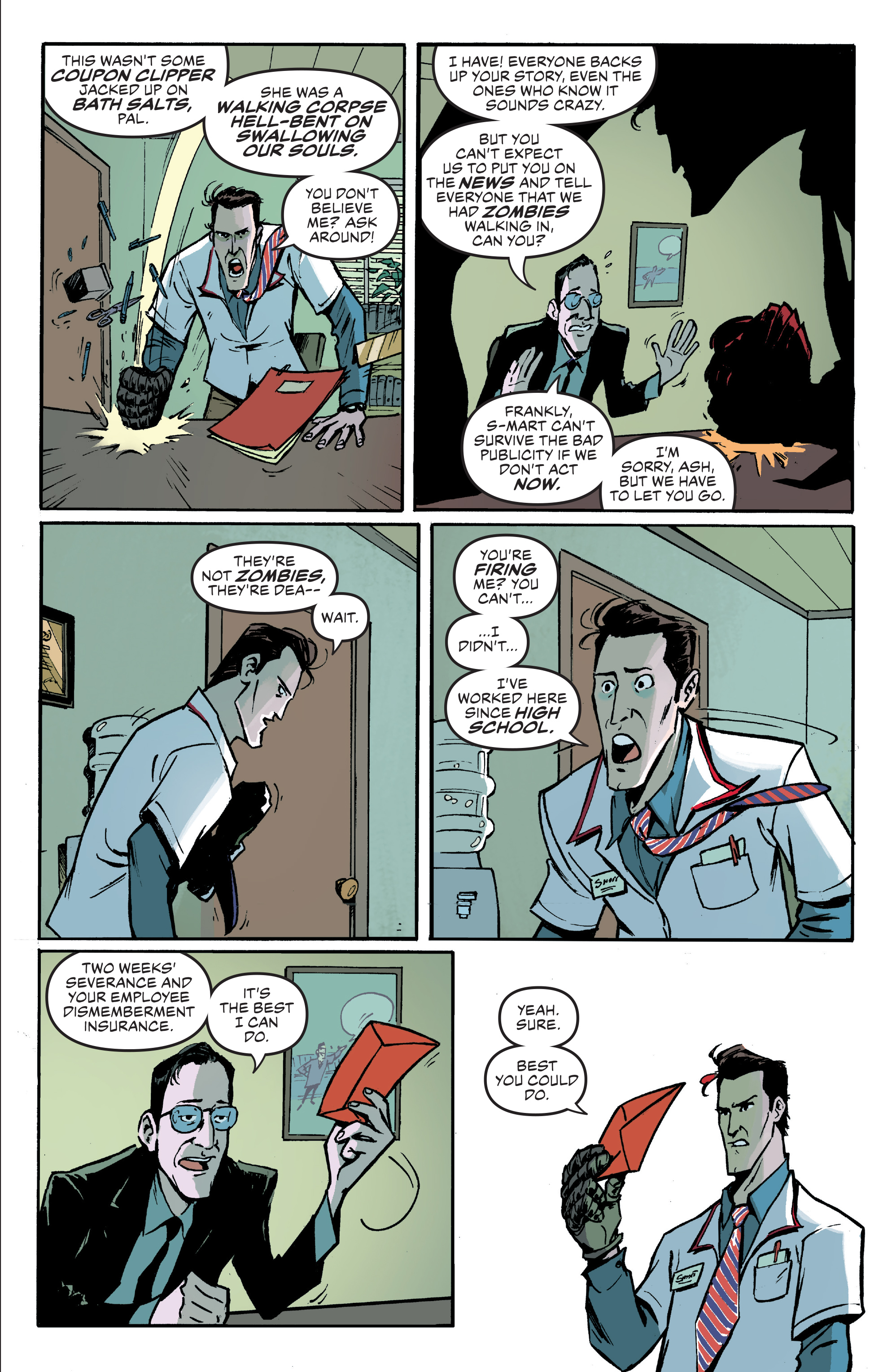 Read online Ash Vs. The Army of Darkness comic -  Issue #0 - 9