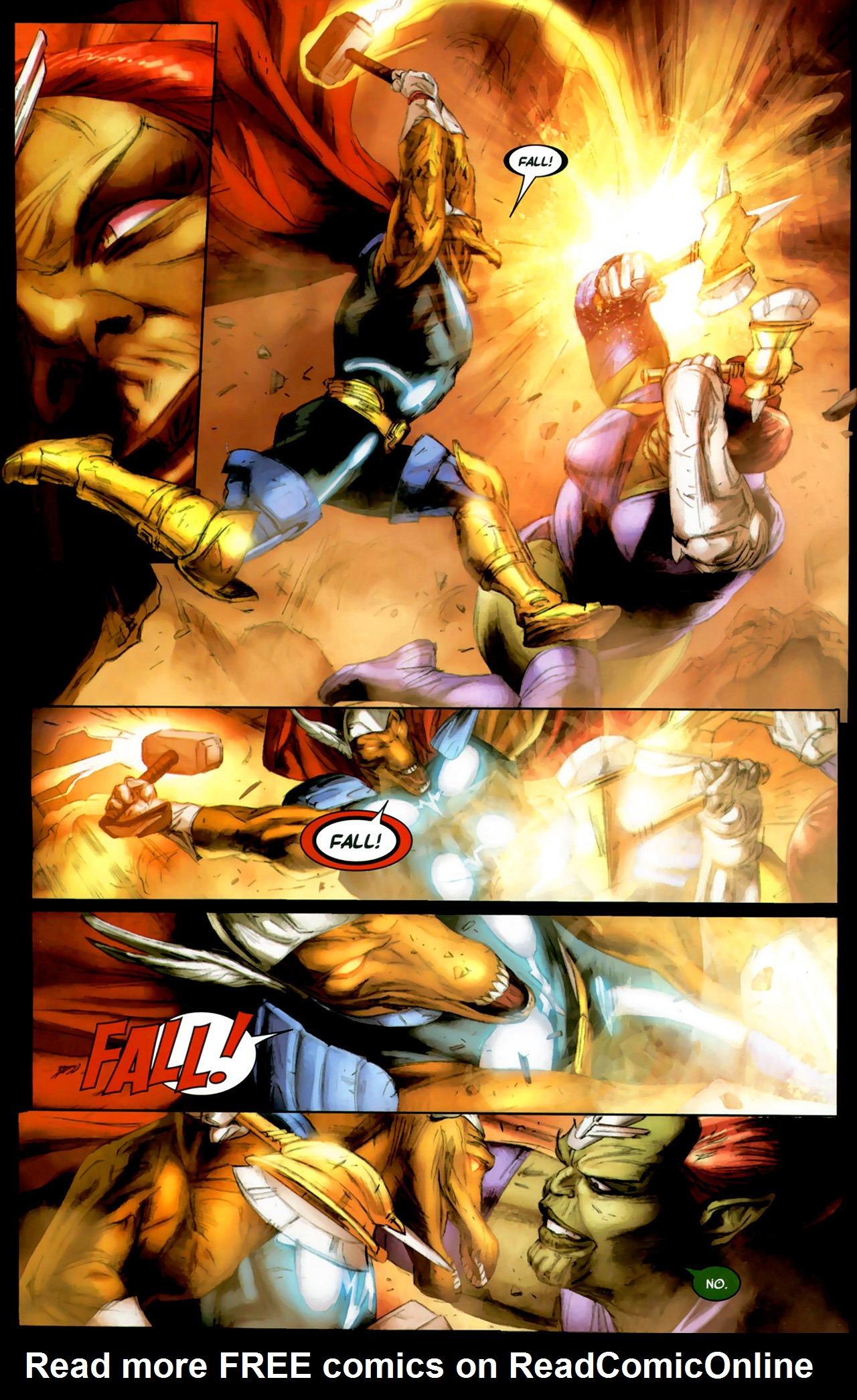 Read online Secret Invasion: Thor comic -  Issue #2 - 18