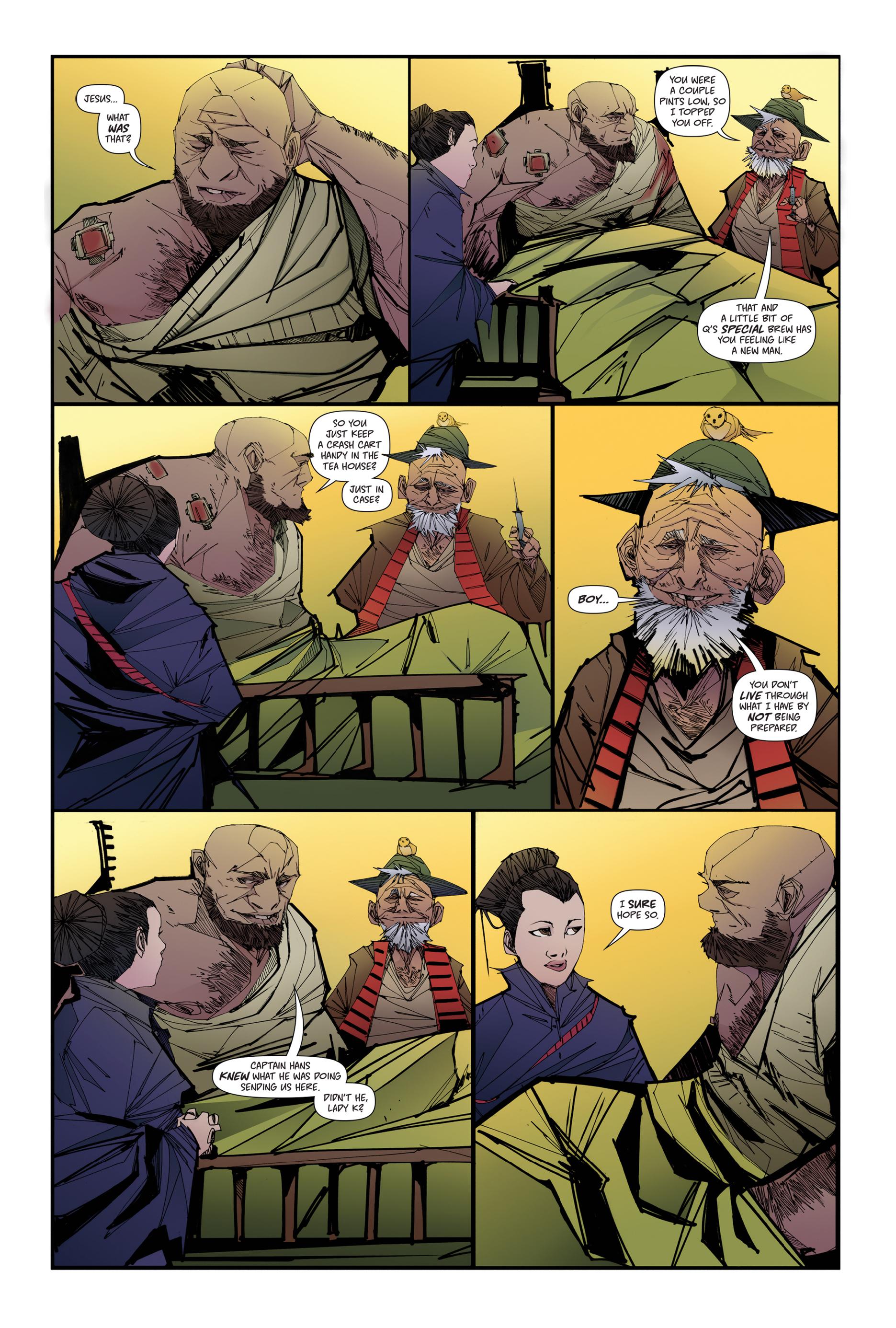 Read online Scrimshaw comic -  Issue #4 - 5
