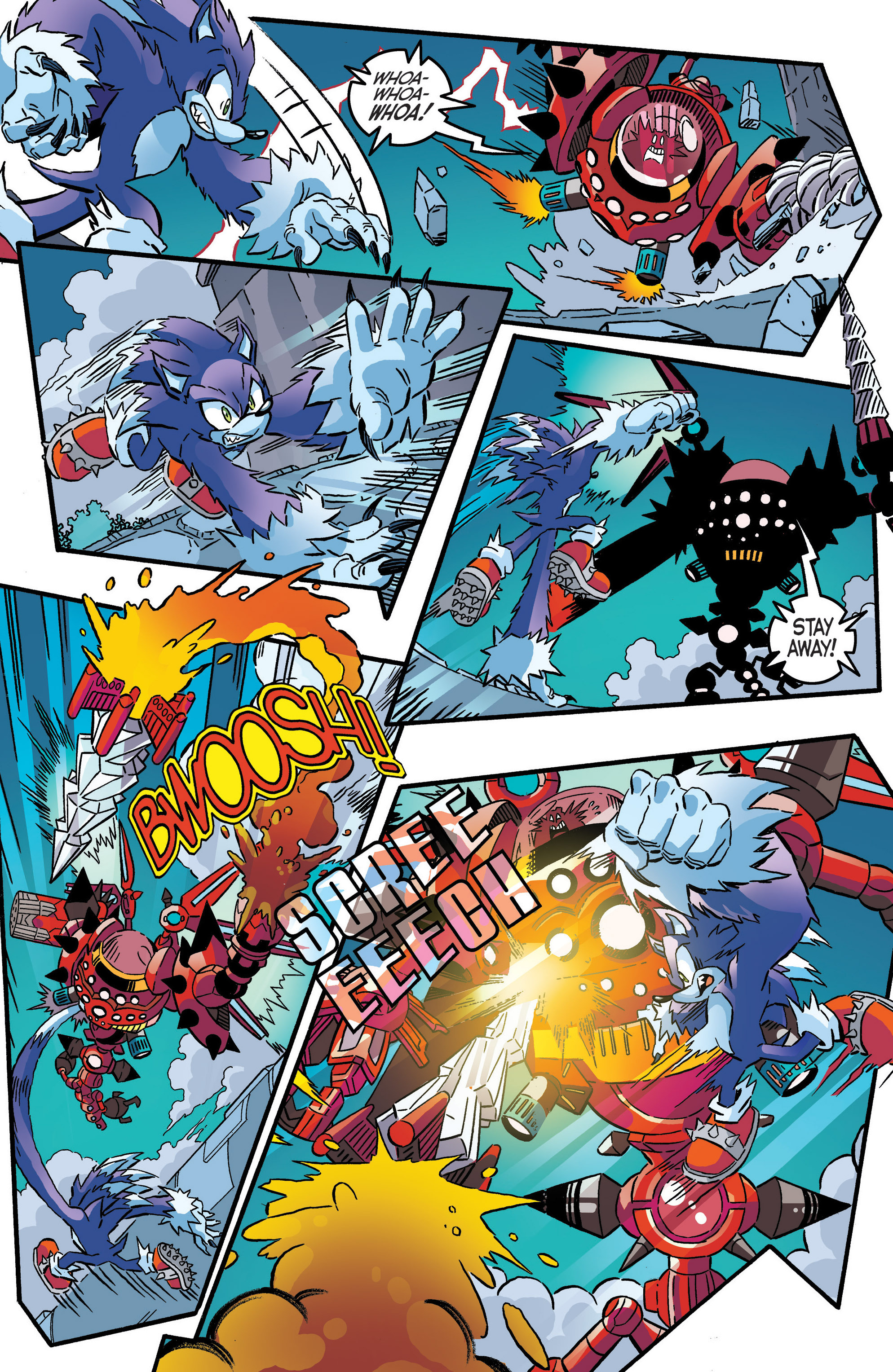 Read online Sonic The Hedgehog comic -  Issue #286 - 13