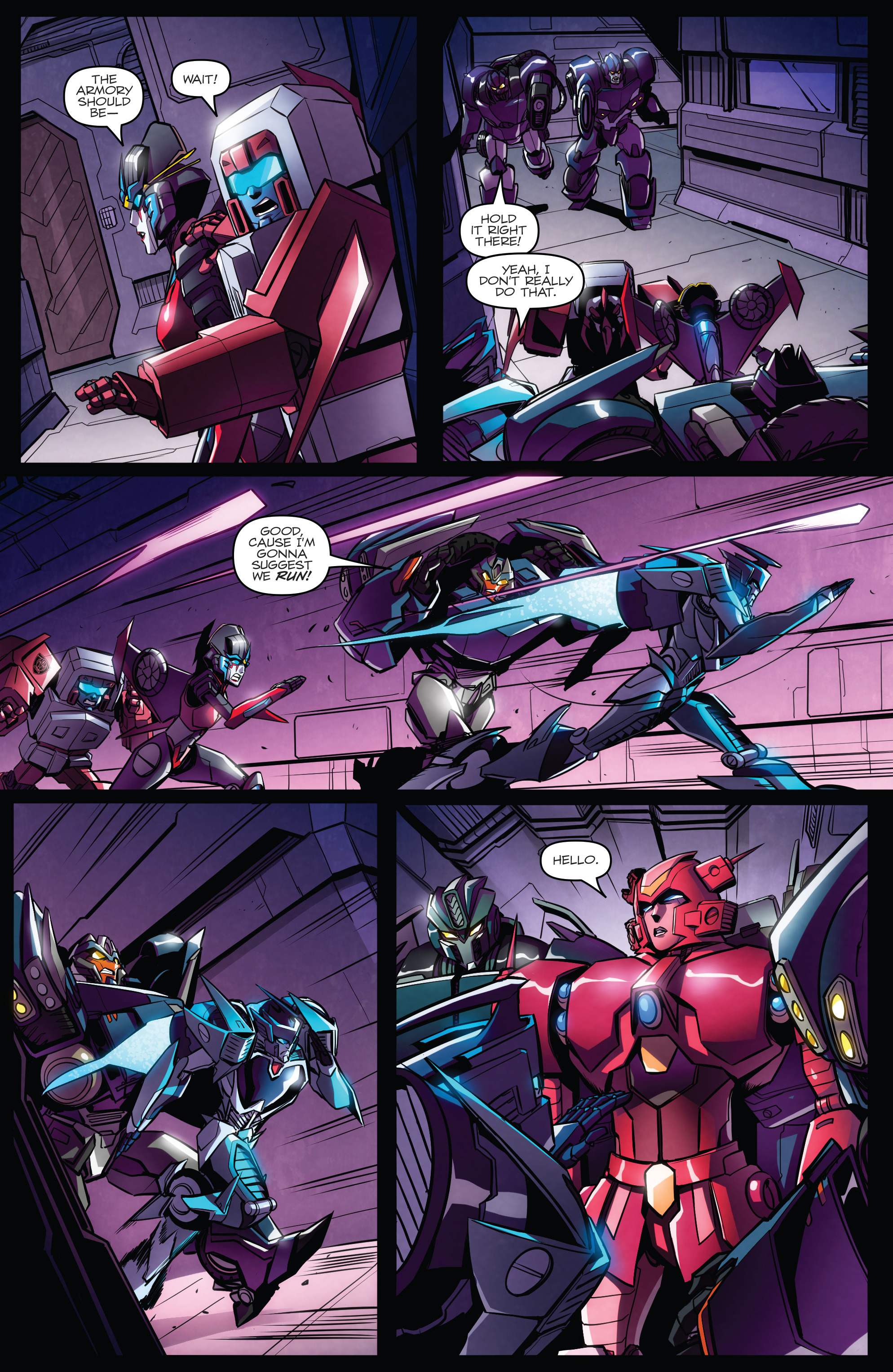 Read online Transformers: Till All Are One comic -  Issue #7 - 17