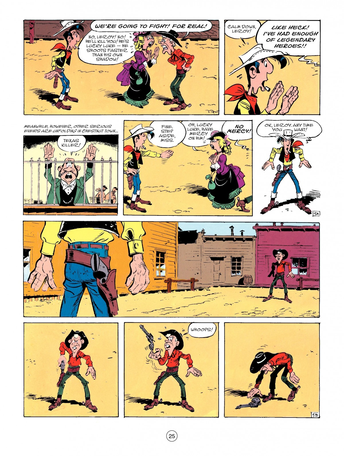 Read online A Lucky Luke Adventure comic -  Issue #50 - 25