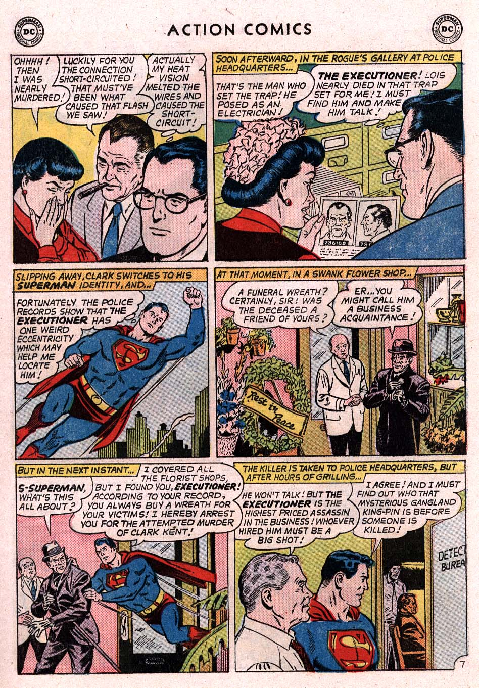 Read online Action Comics (1938) comic -  Issue #307 - 8