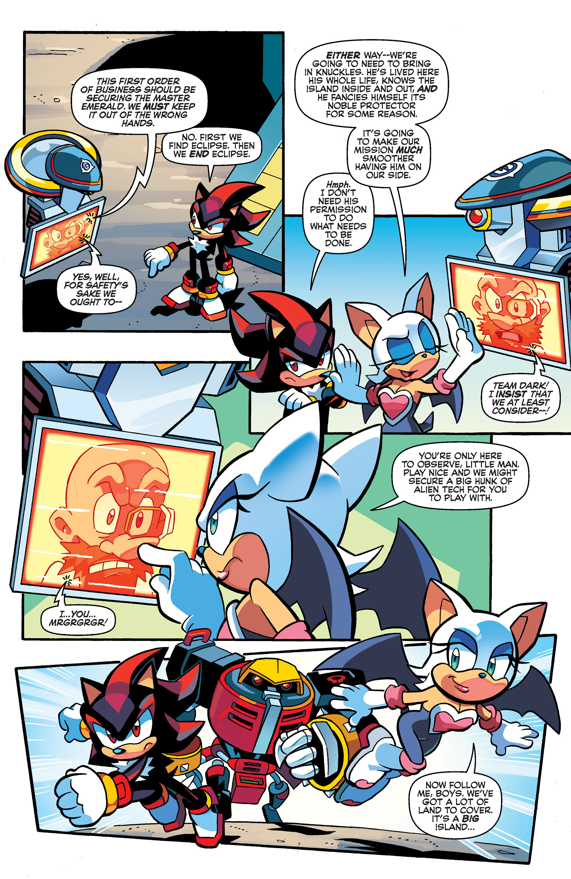 Read online Sonic Universe comic -  Issue #67 - 6