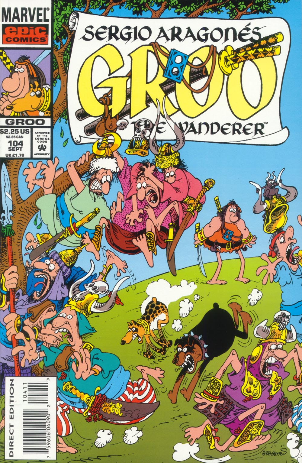Read online Sergio Aragonés Groo the Wanderer comic -  Issue #104 - 1