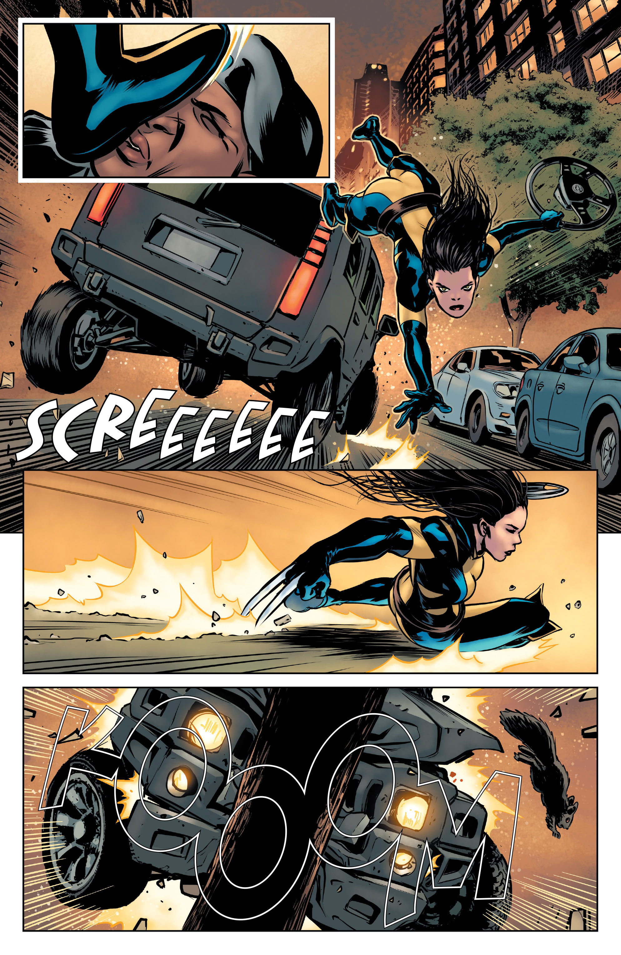 Read online All-New Wolverine (2016) comic -  Issue #3 - 16