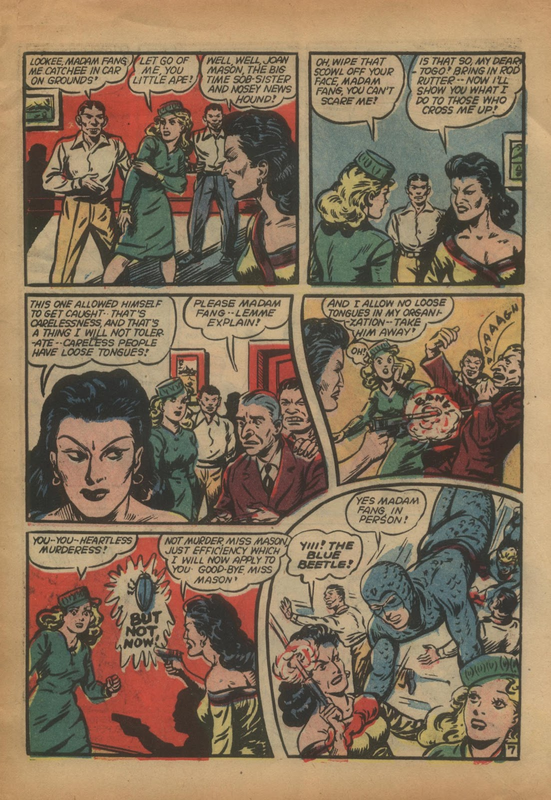 The Blue Beetle issue 15 - Page 9