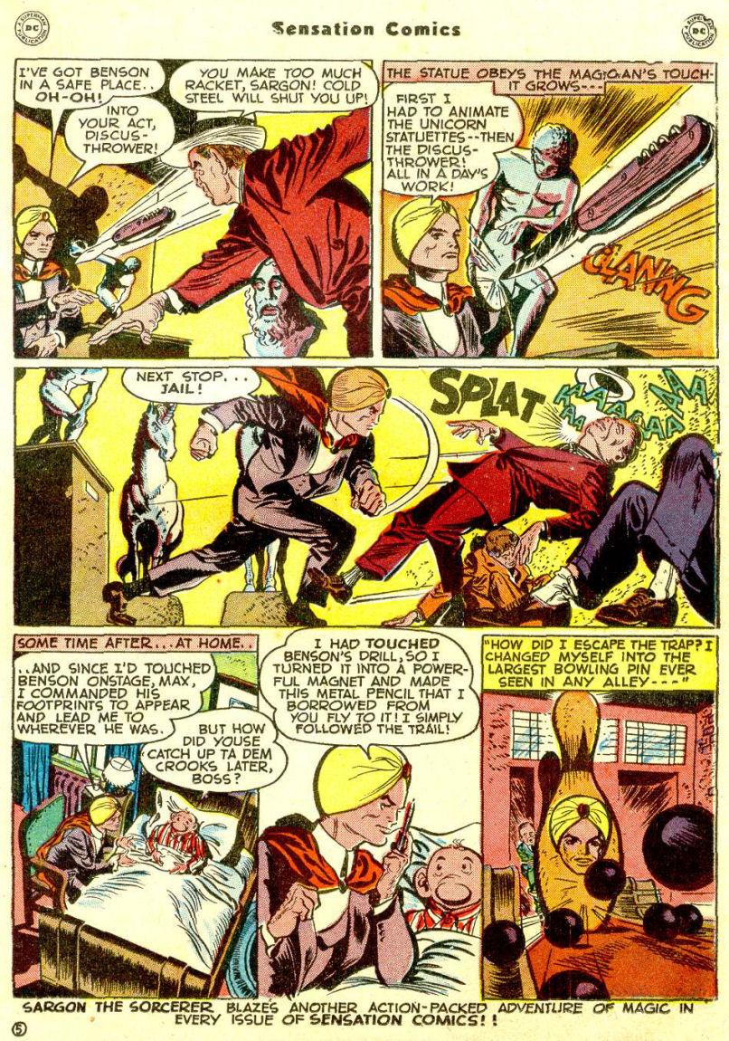Read online Sensation (Mystery) Comics comic -  Issue #77 - 29