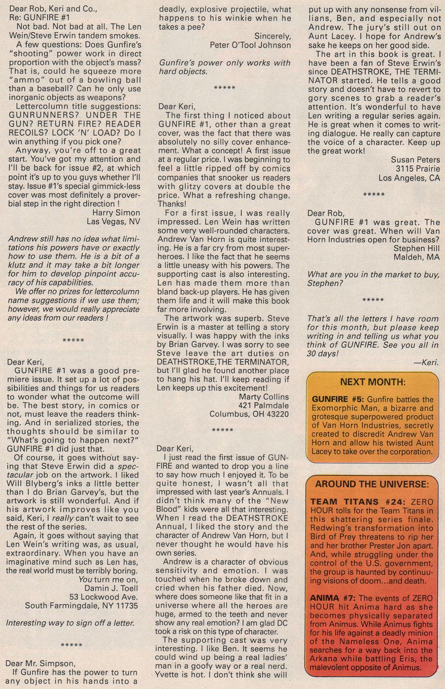 Read online Gunfire comic -  Issue #4 - 32