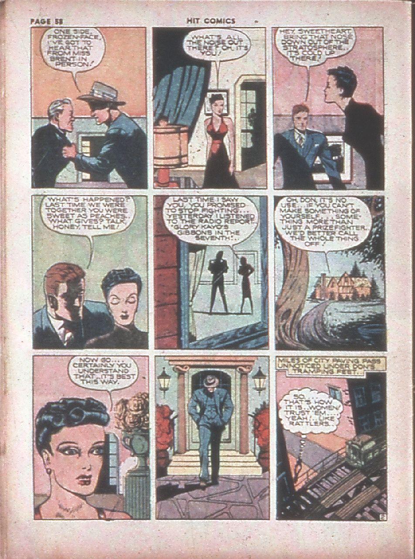 Read online Hit Comics comic -  Issue #8 - 60