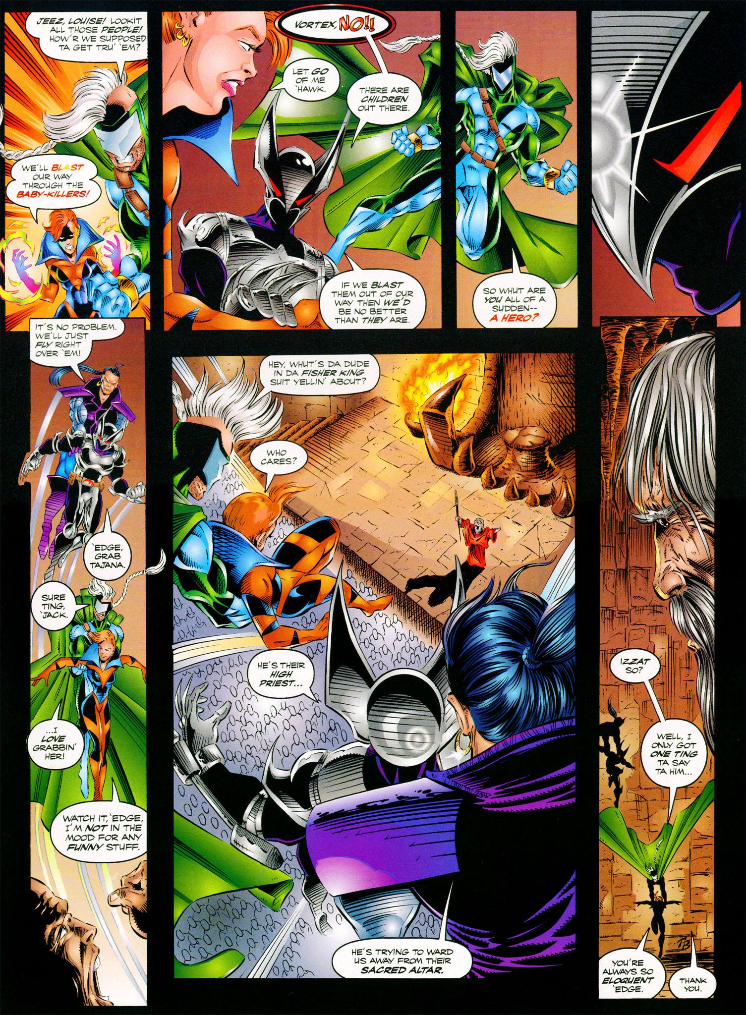 Read online ShadowHawk comic -  Issue #11 - 9