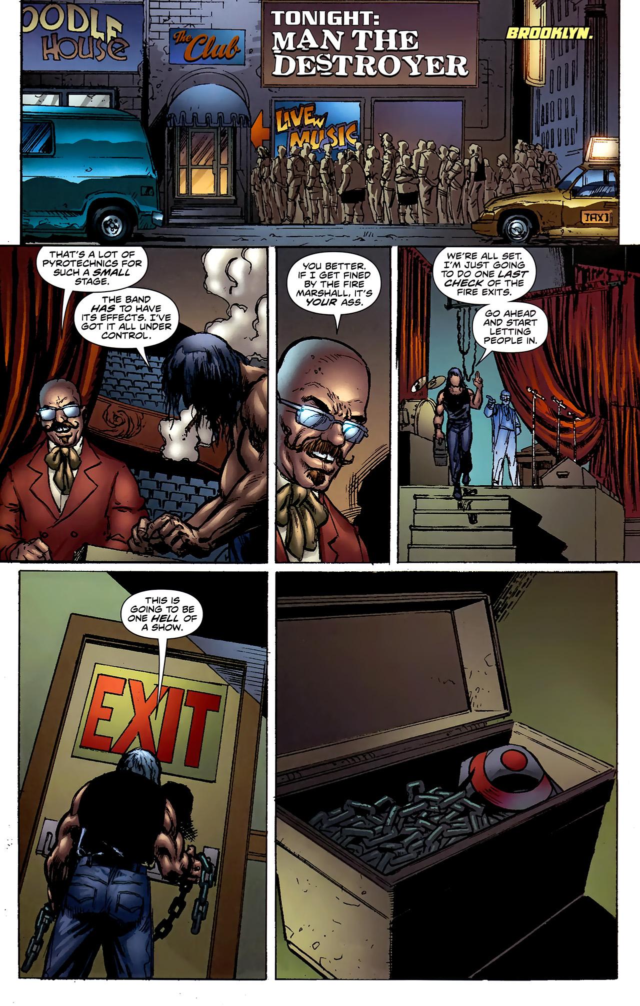 Read online ShadowHawk (2010) comic -  Issue #2 - 9
