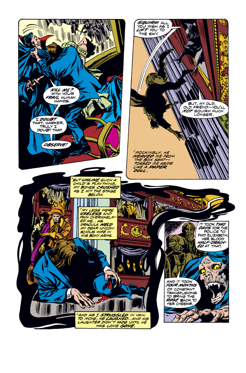 Tomb of Dracula (1972) issue 33 - Page 7