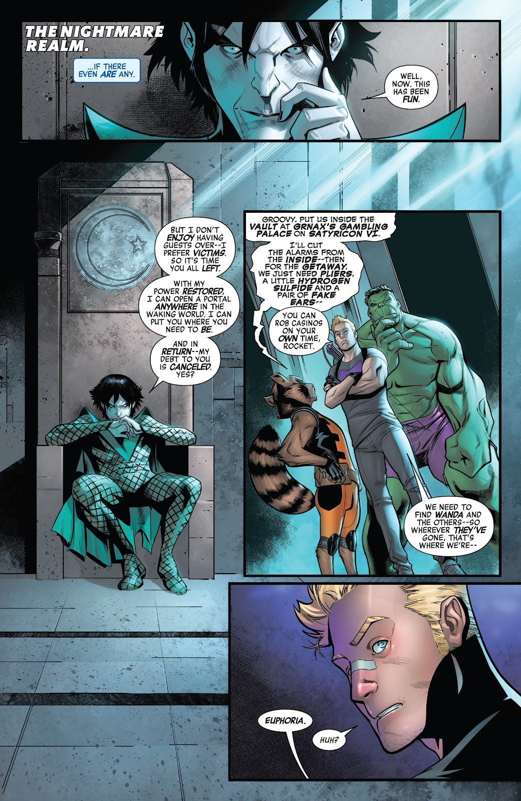 Read online Avengers No Road Home comic -  Issue #7 - 8