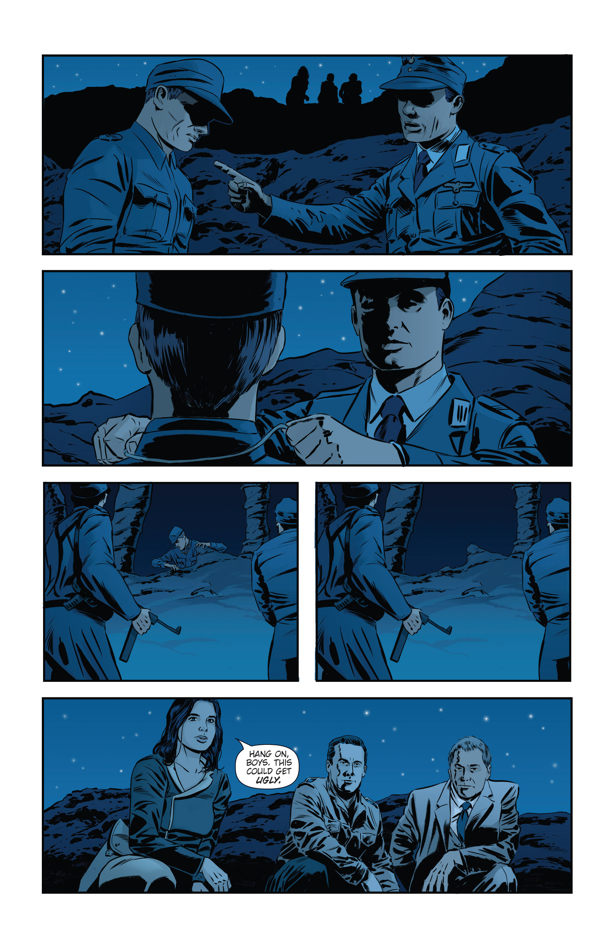 Read online Athena Voltaire and the Volcano Goddess comic -  Issue #3 - 16