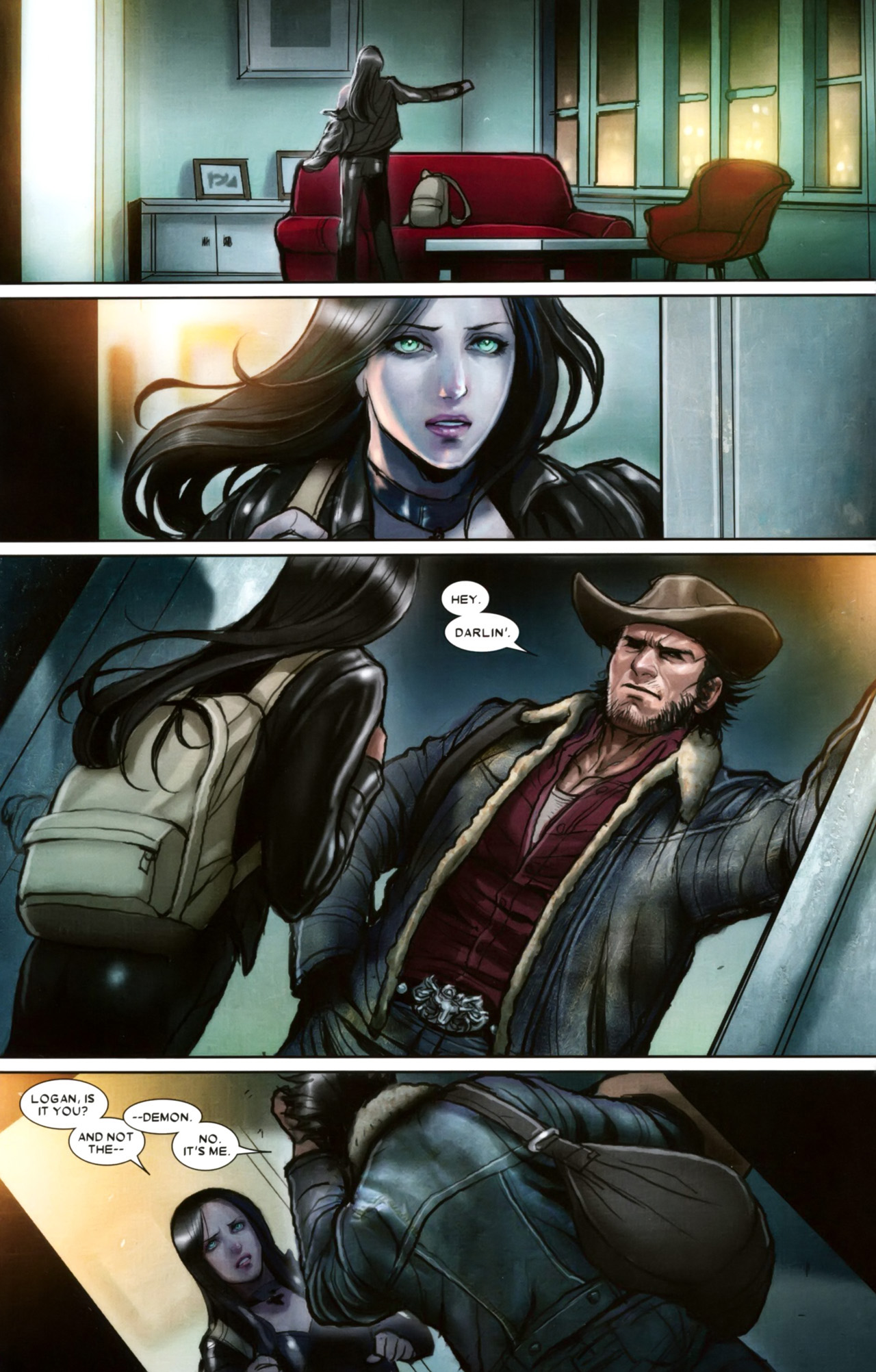 Read online X-23 (2010) comic -  Issue #10 - 12