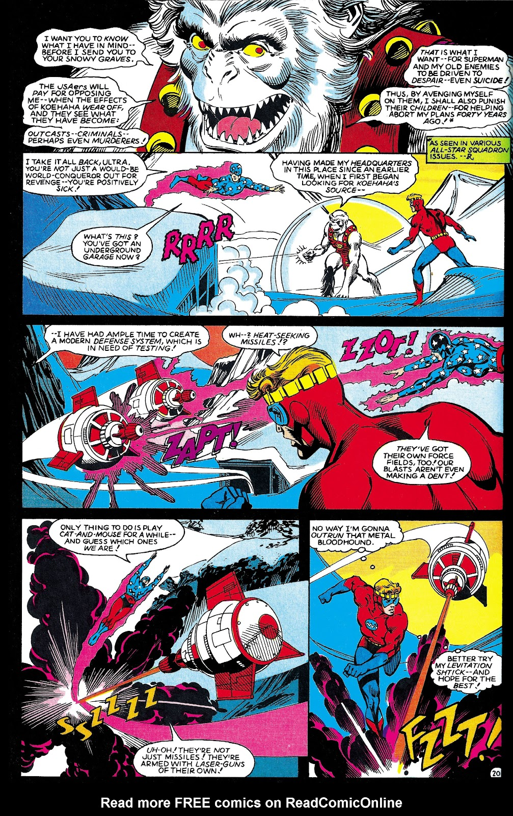 Infinity Inc. (1984) issue 6 - Page 21