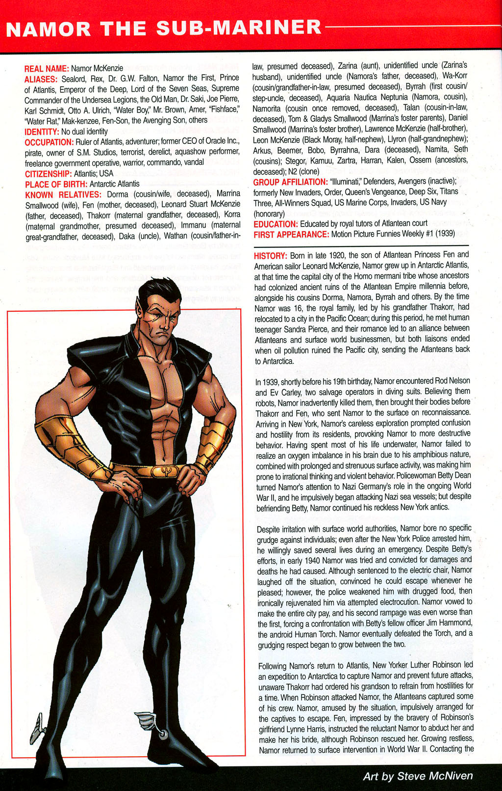 Read online All-New Official Handbook of the Marvel Universe A to Z: Update comic -  Issue #3 - 44